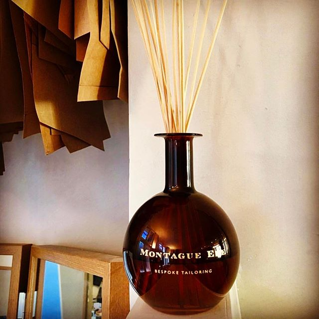 True Grace personalised engraving on our hand blown glass diffusers for @montague_ede Thank you for the lovely photo @montague_ede 💚