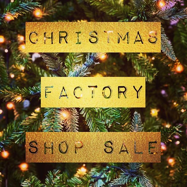 🎁 CHRISTMAS FACTORY SALE 🎁 Our final factory shop sale of 2018...open for TWO WEEKS including one Saturday morning 🎁 OPENING TIMES: NOVEMBER Monday 26th November – Friday 30th November from 10am to 4pm DECEMBER Saturday 1st December from 9am to 1pm Monday 3rd December – Friday 7th December from 10am to 4pm 🎁 TRUE GRACE/ARCO ENGLAND LTD Crusader Park Roman Way Warminster BA12 8SP 🎁 Happy Christmas shopping! 🎁 Any queries please contact Kellie@arcogb.com