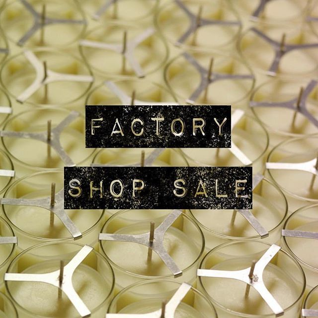 🕯FACTORY SHOP SALE🕯 STARTS TODAY! 🕯 We are having a factory shop sale from  Monday 11th - Friday 15th March 10am - 4pm daily 🕯 True Grace Crusader Park Roman Way Warminster BA12 8SP 🕯 #FactoryShopSale #Warminster #BestCandlesInTheWorld