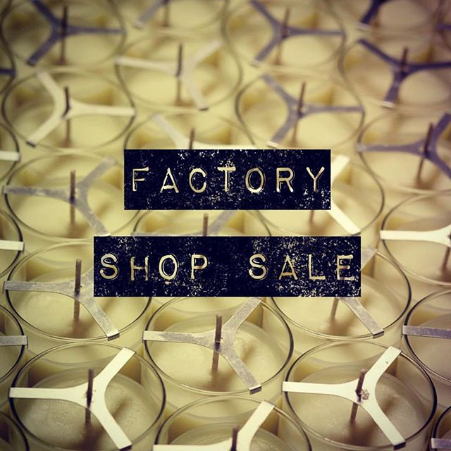 🕯FACTORY SHOP SALE🕯 WE HAVE RE-STOCKED AND IT STARTS TODAY! 🕯  We are having a factory shop sale from  Monday 25th - Friday 29th March 10am - 4pm daily 🕯 True Grace Crusader Park Roman Way Warminster BA12 8SP 🕯 #FactoryShopSale #Warminster #BestCandlesInTheWorld