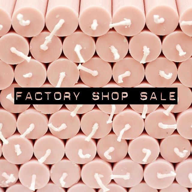 MAY FACTORY SHOP SALE WE HAVE RE-STOCKED! 🕯 We are having a factory shop sale from  Monday 13th - Saturday 18th May 10am - 4pm daily 🕯 True Grace Crusader Park Roman Way Warminster BA12 8SP 🕯 #FactoryShopSale #Warminster #BestCandlesInTheWorld