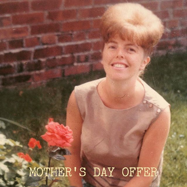 MOTHER'S DAY OFFER (Photo of my Mum in the 1950's) 💚 SPEND OVER £40 ONLINE AND RECEIVE A COMPLIMENTARY SEASHORE HAND CREAM. Our hand cream is made only from the best ingredients that are kind to your skin and the planet. 💚 Buying for one of the most important people in your life can be a daunting task in itself. Buying fragrance for someone other than yourself complicates things further. We have compiled a few fragrance ideas based on 'mum type' to give you a little inspiration below. 💚 The Outdoorsy Mum She loves to take the dogs on a five-mile walk, the garden is her living room and her idea of a relaxed Sunday is to go for a hike or climb up a mountain? Try one of our room sprays in a fresh and clean fragrance such as Rosemary & Eucalyptus, Chesil Beach or Seashore. She will appreciate the quick burst of fragrance as she is bound to run off outside anyway. 💚 The Traditional Mum If your mum still does your laundry, cooks your favourite meal whenever you come home and you are unable to leave her house without a weeks worth of frozen Bolognese, one of our classic candles in Moroccan Rose will be a safe bet! If you think that maybe a tad too traditional, go for Orangery or Gardenia. 💚 The Unconventional Mum Your weekend calls go unanswered until the late afternoon because she has had one too many G&Ts on her girls night out and when you come to visit the chances of take-out and a Netflix binge session are high. An unconventional mum needs an unconventional fragrance - we recommend fragrances like Black Lily, Portobello Oud and Amber in one of our small bowl candles, a statement piece she will love. 💚 The Perfectionist Mum Her house is sparkling - and almost uncomfortably - clean every time you come around and you still occasionally wake up in sweats shouting 'Coasters!' in the middle of the night? Go for a diffuser in a gentle and clean fragrance like White Tea or Green Tea & Citrus. The diffuser will add a constant, subtle fragrance to the room, making it one less thing she has to worry about. 💚  Offer available until 22nd of March while stocks last