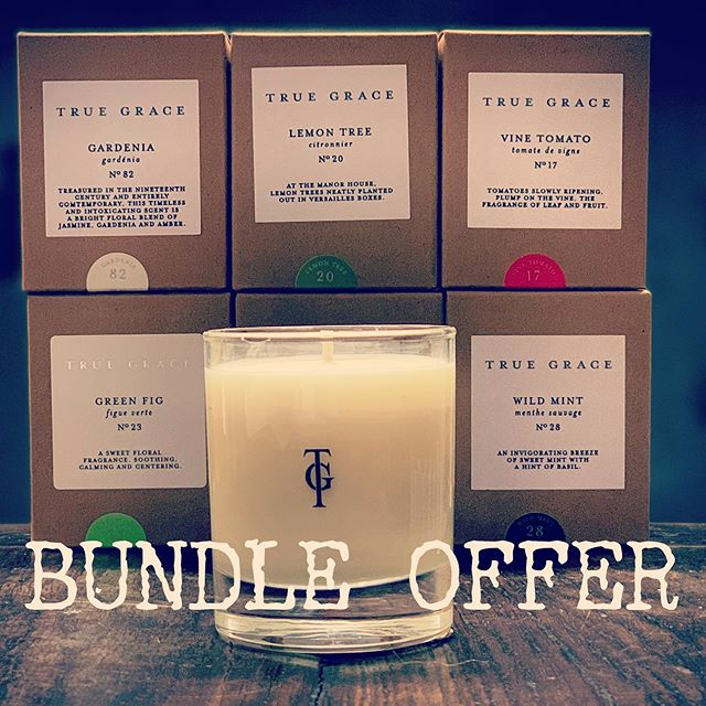 FRAGRANCE FRIDAY: OUR LITTLE BUNDLE FOR YOU 🙏 Receive a complimentary 20cl Lemon Tree candle worth £24 with any order over £60 OR If you love the 20cl candles and would like to stock up, you can purchase a bundle of six for just £100: Gardenia Lemon Tree Vine Tomato Green Fig Wild Mint Cedarwood 🙏 Offer available until 9th April 🙏 THIS WEEK'S SPECIAL FRAGRANCE LEMON TREE  Lemon Tree is one of our favourite citrus scents. It is beautifully bright and zesty with lovely green notes, carrying with it the spirit of Summer… something we are all longing for!