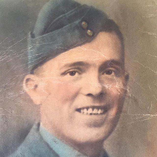 In recognition of the 75th anniversary of VE Day, my grandfather Richard Parker  #veday75anniversary